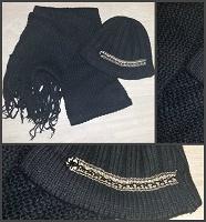 Отдается в дар Комплект шапка+шарф