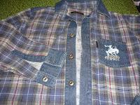 Отдается в дар рубашка на мальчика лет 10-11