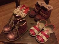 Отдается в дар Детская обувь для девочки 24 размер