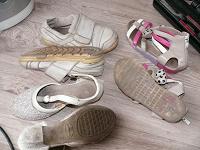 Отдается в дар Детская обувь, кожа,29р, 19см по стельке