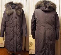 Отдается в дар Женское пальто-пуховик