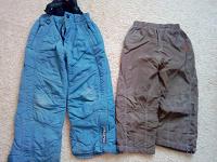 Отдается в дар штаны-комбез зимние и деми 110 см