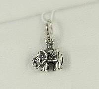 Отдается в дар Миниатюрный серебряный слоник