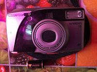 Отдается в дар Пленочный фотоаппарат Olympus superzoom115