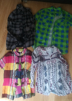 Отдается в дар Рубашки-блузки S. XS