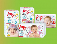 Отдается в дар Подгузникт JOY, размер 5 junior