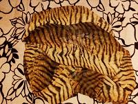 Отдается в дар Шарфик шифоновый «тигровой» расцветки