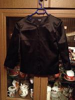 Отдается в дар Черный пиджак, размер 44
