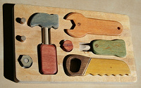 Отдается в дар Набор инструментов для самых маленьких помощников