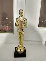 Отдается в дар Статуэтка «Оскар»