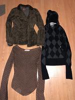 Отдается в дар 2 свитера и пиджак