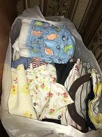 Отдается в дар Вещи для деток новорождённых