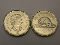 Отдается в дар Монета Канады
