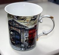 Отдается в дар Большая фарфоровая чашка