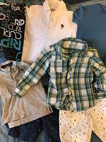 Отдается в дар Детская одежда на мальчика 3-5 лет