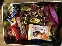Отдается в дар Мешочек конфет