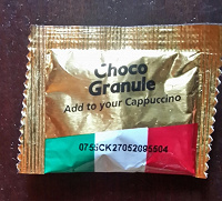 Отдается в дар Шоколадная крошка для кофе/ капучино