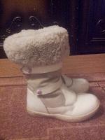 Отдается в дар Сапоги детские, зимние.