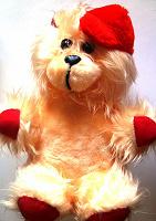 Отдается в дар Медведь плюшевый в шляпе