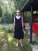 Отдается в дар Платье лен 46-50