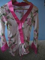 Отдается в дар Рубашечка шелковая, 38-40 рос.