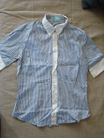 Отдается в дар Блуза-рубашка 46размер