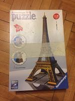 Отдается в дар пазл 3D Эйфелева башня