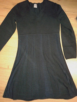 Отдается в дар Теплое платье