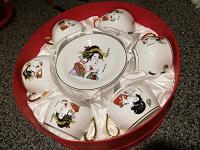Отдается в дар Набор посуды в японском стиле.