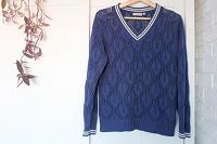 Отдается в дар Ажурный пуловер