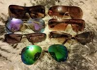 Отдается в дар Очки солнцезащитные