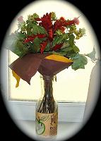 Отдается в дар Осенний букет из сухоцветов