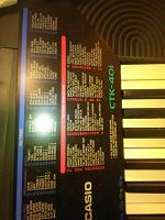 Отдается в дар Полупрофессинальный синтезатор Casio ctk401