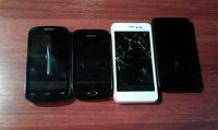 Отдается в дар четыре телефона
