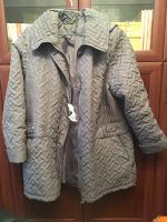 Отдается в дар Куртка осенняя б/у размер 56-58