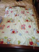 Отдается в дар Детское одеяло, пододеяльники
