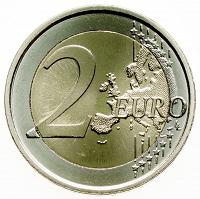 Отдается в дар 2 евро 2018 «100лет Австрийской Республике».