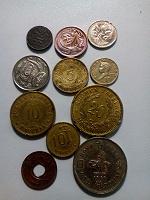 Отдается в дар Жменька монет.