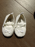 Отдается в дар Мягкие туфельки, на 3-4 месяца.
