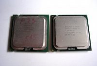 Отдается в дар 2 процессора S775