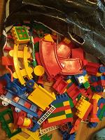 Отдается в дар Конструктор пластиковый типа Лего