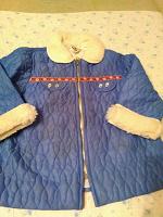 Отдается в дар Стеганная куртка СССР размер 28