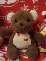 Отдается в дар Мишка с сердечком