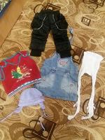 Отдается в дар Пакетик одежды для девочки