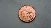 Отдается в дар Монета 5 центов 2010 ЮАР Журавль