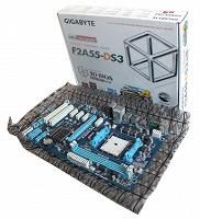Отдается в дар Материнская плата Gigabyte F2A55-DS3