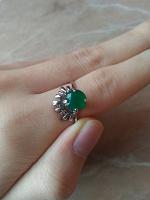 Отдается в дар Серебряные украшения (кольцо и серьги)