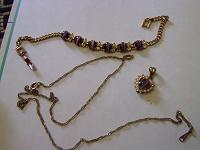 Отдается в дар Набор: браслет и кулон с цепочкой