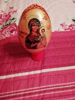 Отдается в дар Деревянное яйцо хв