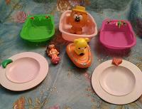 Отдается в дар игрушки для кухни и ванной